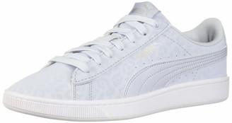 Puma Women's Vikky V2 Sneaker Heather Silver White Numeric_10_Point_5