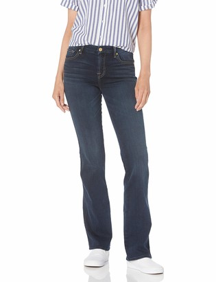 7 For All Mankind Women's Kimmie Bootcut in Dark Moonlight Bay
