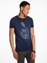 Scotch & Soda Printed Artwork T-Shirt