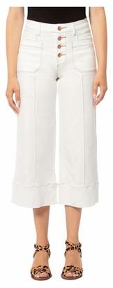 Lola Jeans Women's High Rise Wide Leg Crop