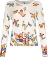 Yumi Butterfly Printed Cardigan