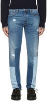 Valentino Blue Patchwork 003 Jeans
