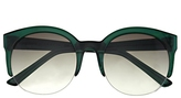 Vince Camuto Colored Keyhole Round Sunglasses