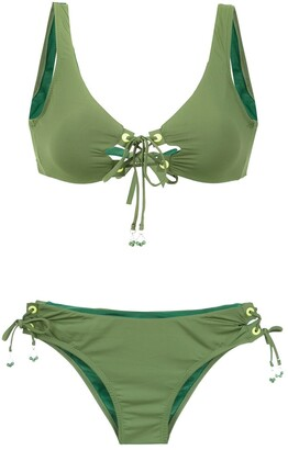 AMIR SLAMA lace up bikini