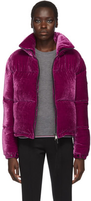 Moncler Purple Down Rimac Jacket