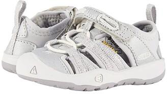 KEEN Kids Moxie Sandal (Toddler) (Silver) Girls Shoes