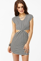 Nasty Gal Knotted Line Dress