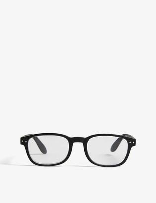 Izipizi #B Reading square-frame glasses +2.5