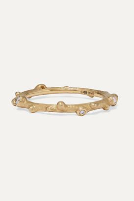 OLE LYNGGAARD COPENHAGEN Nature 18-karat Gold Diamond Ring - 52