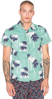 Scotch & Soda Hawaiian All Over Printed Shirt