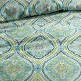 Pier 1 Imports Capri Tile Turquoise King Duvet Cover