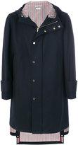 Thom Browne hooded coat
