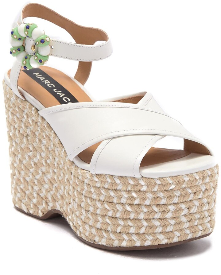 Thumbnail for your product : Marc Jacobs Rowan Espadrille Wedge Sandal