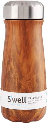 Swell S'well Teakwood Traveler Flask