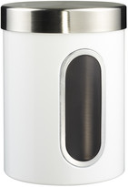 Wesco Kitchen Storage Canister with Window - White