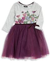 Zunie Little Girl's Floral Tutu Dress