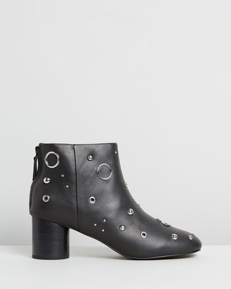 Senso Women's Black Heeled Boots - Omar - Size One Size, 38 at The Iconic
