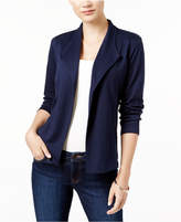 Style&Co. Style & Co Style & Co Petite Draped Blazer, Created for Macy's