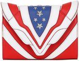 Elena Ghisellini Felina Stars & Stripes Leather Bag