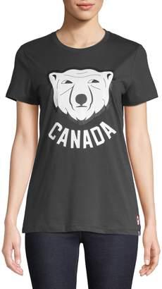 Canadian Olympic Team Collection Short-Sleeve Canada Bear Tee