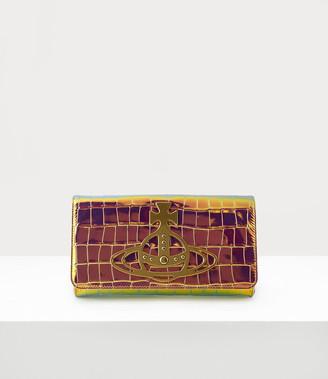 Vivienne Westwood Archive Orb Clutch Bag Iridescent/Brass