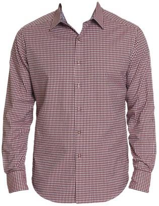 Robert Graham Beyond The Grid Stretch-Cotton Shirt