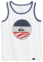Quiksilver Boy's Block Party Graphic Tank
