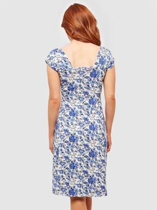 Joe Browns Easy Love Dress - White Multi