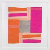 Minted Modern Quilt Block Art Print