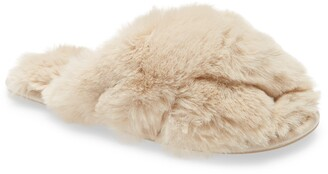 Joules Slumber Faux Fur Slipper