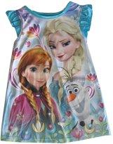 Disney Little Girls Frozen Elsa Anna Olaf Print Nightgown