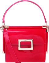 Roger Vivier Miss Viv mini patent-leather bag