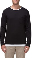 Tavik Men's 'Bloke' Raw Edge Crewneck Sweater