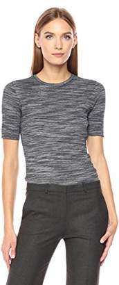 Theory Women's Short Sleeve Fitted Crew