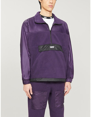 adidas Vocal fleece and shell jacket