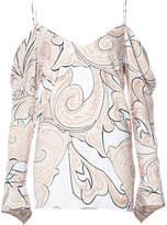 C/Meo paisley print V-neck blouse