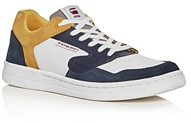 G Star Men's Mimemis Suede & Mesh Low-Top Sneakers
