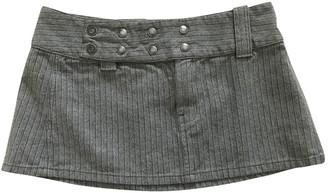 Diesel Grey Denim - Jeans Skirt for Women