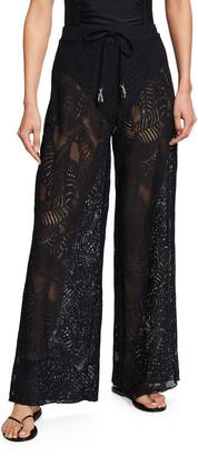 Letarte Cape Cod Coverup Lace Pants