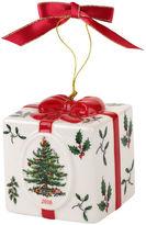 Spode 2.5 Christmas Present Ornament, White