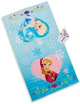 Disney Frozen Bath Towel and Wash Mitt Set