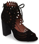 Jeffrey Campbell Women's Cordia Perforated Bootie Sandal