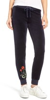 Juicy Couture Women's Pretty Thing Zuma Velour Track Pants