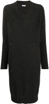 Brunello Cucinelli Knitted Jumper Dress