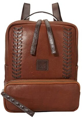 STS Ranchwear Saddle Tramp Backpack (Brown) Backpack Bags