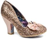 Irregular Choice Women's Nick Of Time High Heels In Gold - Size Uk 4 / Eu 37