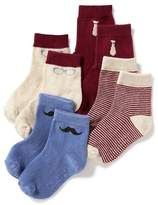 Old Navy Crew-Sock 4-Pack for Toddler & Baby