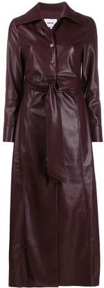 Nanushka Tarot vegan leather dress