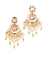 Mercedes Salazar Fiesta Clip On Earrings