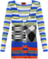 Missoni Stripe V-Neck Cardigan